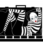 Mime In Suitcase